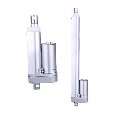 2x Multi-function Linear Actuator Heavy Duty 50mm/200mm 330lbs Max Load 12V
