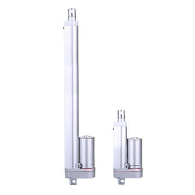 2x Multi-function Linear Actuator Heavy Duty 30mm/200mm 330lbs Max Load 12V