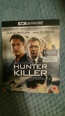 Hunter Killer, 4K HD, Bluray and Digital Download,  New and Sealed