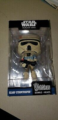 FUNKO WOBBLER: Star Wars - Rogue One - Scarif Stormtrooper [New Toys] Vinyl Fi