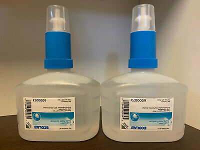 (2) 25oz Ecolab 6000073 Quik-Care Foam Hand Sanitizer Exp 10/2020