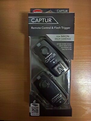 Hahnel Captur Remote Control & Flash Trigger for Nikon DSLR Cameras (D800, D750)