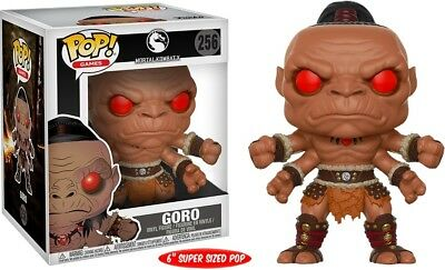 "Funko Pop! Mortal Kombat - Goro 6"" Super Sized #256 Exclusive"