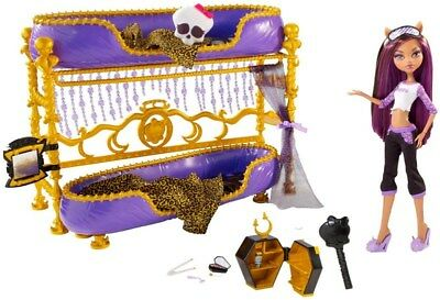 Monster High Dead Tired Room to Howl Clawdeen Bed Replacement Parts U Pick