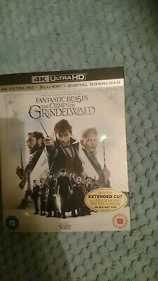 Fantastic Beasts: The Crimes Of Grindelwald, 4K. Bluray and Digital Download,...