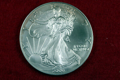 ESTATE FIND 2000  American Silver Eagle  #D13693
