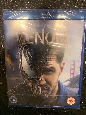 Venom (Blu-ray) Tom Hardy 2018 NEW & SEALED