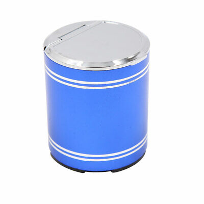 Universal Blue Metal Liner Car Ashtray Portable Auto Smoke Ash Cup Cars