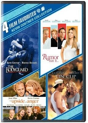 4 Film Favorites: Kevin Costner Collection [New DVD] Dubbed, Eco Amaray Case,