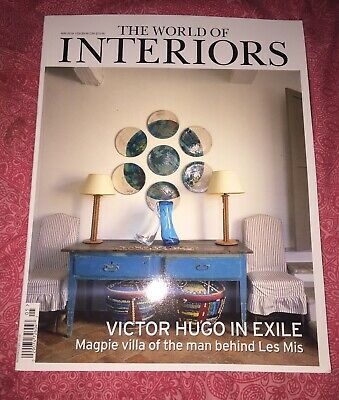 THE WORLD OF INTERIORS MAGAZINE ISSUE May 2019  ~BRAND NEW