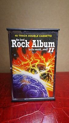 The Best Rock Album In the world...ever! II (40 Track Double Cassette)