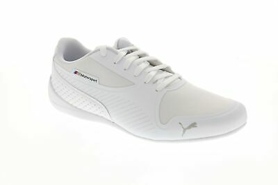 Puma Bmw Mms Drift Cat 7 Ultra Mens White Textile Athletic Racing Shoes