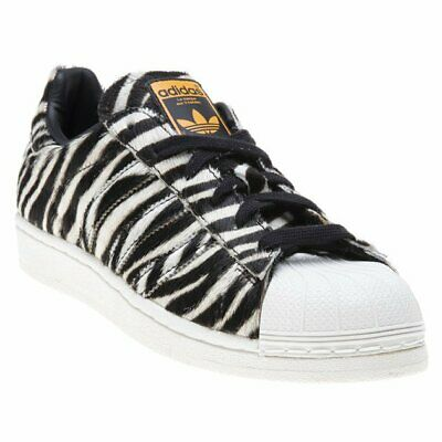 check out d6533 9b866 New Womens adidas Multi Superstar Synthetic Trainers Animal Lace Up