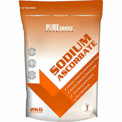 Sodio Ascorbato Polvere (Vitamina C) - 100% pure Source Nutrition