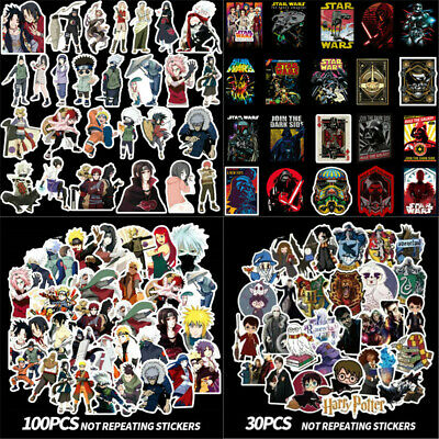 Sticker Star Wars Avengers Harry Potter A Game of Thrones Dragon Ball Laptop