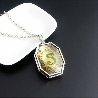 Harry Potter Prop Slytherin Horcrux Locket Necklace Costplay Adom Gifts Decor