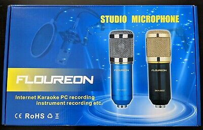 Floureon BM-800 Condenser Microphone Kit - Accessories Included - New in Box!