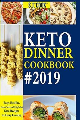 Keto Diet Cookbook Dinner For Beginners Ketogenic Diets Recipes Book Paperback
