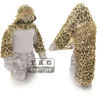 TACTICAL CONCEALMENT ICCD Ghillie Suit Kit #6 Pre-Owned