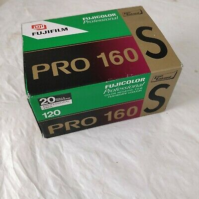 Fujifilm Professional Pro 160S 120 Film - Box of 20 -