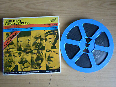Super 8mm sound 1x400 THE BEST OF W.C. FIELDS. Classic comedy compilation.