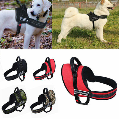 No-pull Dog Harness Outdoor Adventure Pet Vest Padded Handle- S/M/L/XL UK