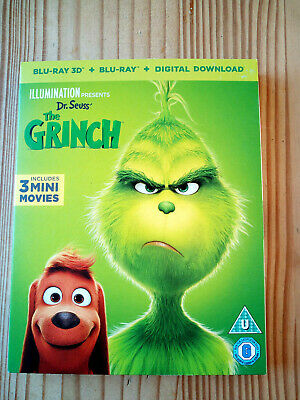 The GRINCH 3D BLU-RAY New Sealed