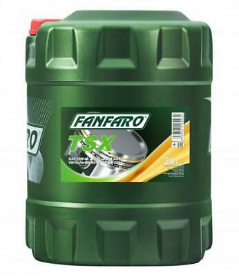 Fanfaro TSX 20L Semi-Synthetic Engine Oil 10W-40 501.01/505.00 SL/CF MB229.1