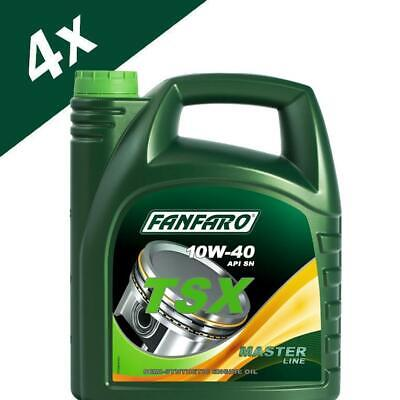 Fanfaro TSX 20L Semi-Synthetic Engine Oil 501.01/505.00 10W-40 SL/CF MB229.1