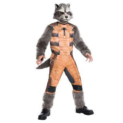 Rubies Rocket Raccoon Costume Guardians Of The Galaxy Marvel Superhero Avengers