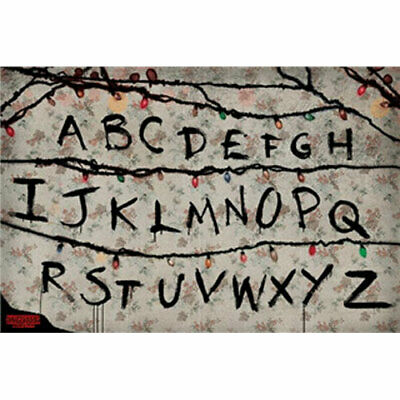 Stranger Things - RUN - POSTER 61x91cm NEW letters of the alphabet