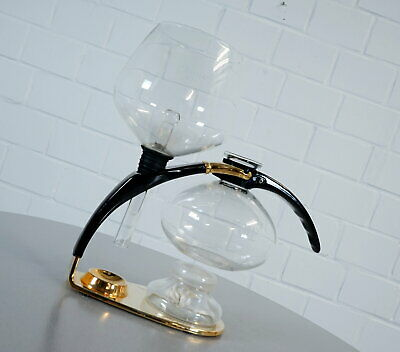 Amphora CONA Luxus Kaffee Maschine Coffee Maker Gold Edition Size C 80er Jahre