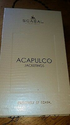 SCABAL Design SAMPLEBOOK StoffKatalog Stoffmusterbuch BUNCH 2287 ACAPULCO