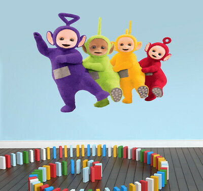 TELETUBBIES Inspired Wall Art Sticker Decal CHILD BEDROOM - NURSERY