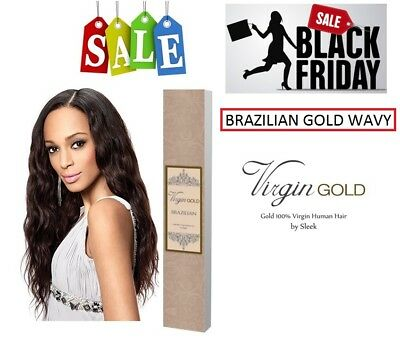 Brazilian Gold Wavy WEAVE - 100% VIRGIN HUMAN HAIR by Sleek - BLACK FRIDAY DEAL