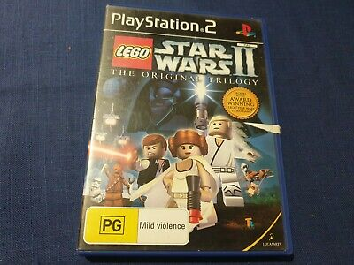 Lego Star Wars 2 The Original Trilogy - Tested - Working