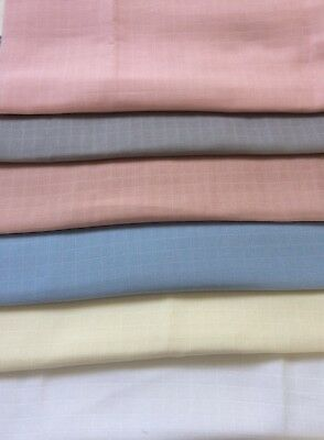 New Muslin Squares Baby Cloth Reusable Nappy Bibs Wipes 100% ORGANIC Cotton