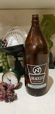NT Draught 2.25 Collectible Beer Bottle