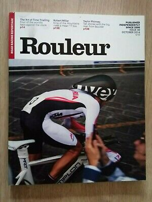 Rouleur Issue 49 October 2014 - Robert Millar, Taylor Phinney, Time Trialling