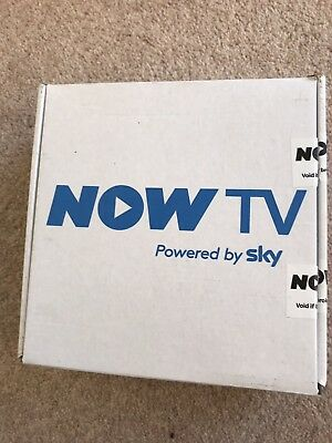 Now Tv Box Model 2400sk In Box Unused  Powered By Sky