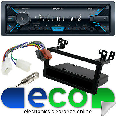 TOYOTA HILUX VIGO 2005 On SONY Mechless Bluetooth DAB Car Stereo & Fitting Kit