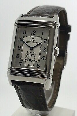 Jaeger-LeCoultre Reverso Grande Taille Ref. 270.8.62 Men's Manual Watch JLC B&P
