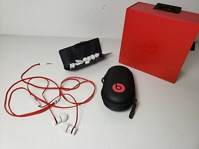 Authentic Beats by Dr. Dre urBeats Headphone microphone All Original with Pouch