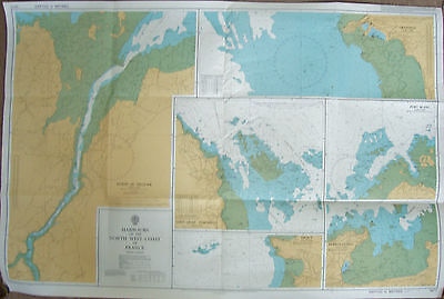 Ad.Chart 3672-Harbours on North West Coast of France (Brittany)1984 corr.to 1989