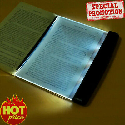 New Portable Book Light LED Panel Lamp Night Vision Car Travel Reading New Trend