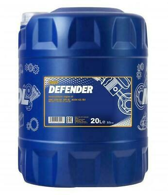 Mannol 20L Defender Semi-Synthetic Engine Oil 10W-40 501.01/505.00 MB229.1 SL