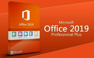 Microsoft Office 2019 Professional Plus ✓ Vollversion ✓ 32/64Bit ✓ LIZENZ-KEY ✓