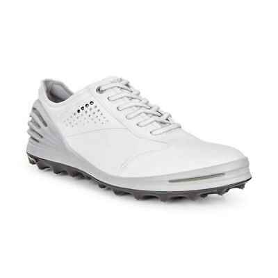 new style c9798 ef55e ECCO Cage Pro Spikeless Golf Shoes 133004-01007 White