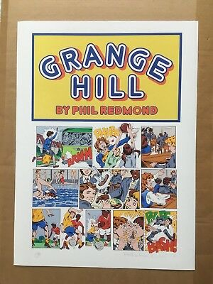 GRANGE HILL special limited edition title art + Banksy, D'Face or EDP flyer