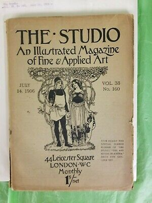 The Studio Illustrated Magazine of Fine & Applied Art early 1900s A-G 190425